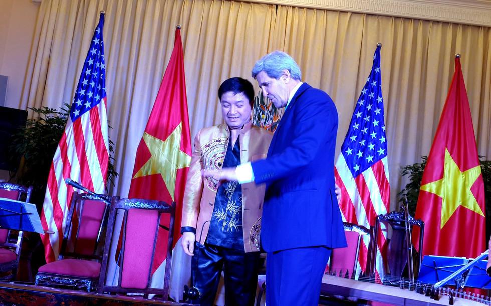 BTNG USA John Kerry va NSUT Xuan Binh tr
