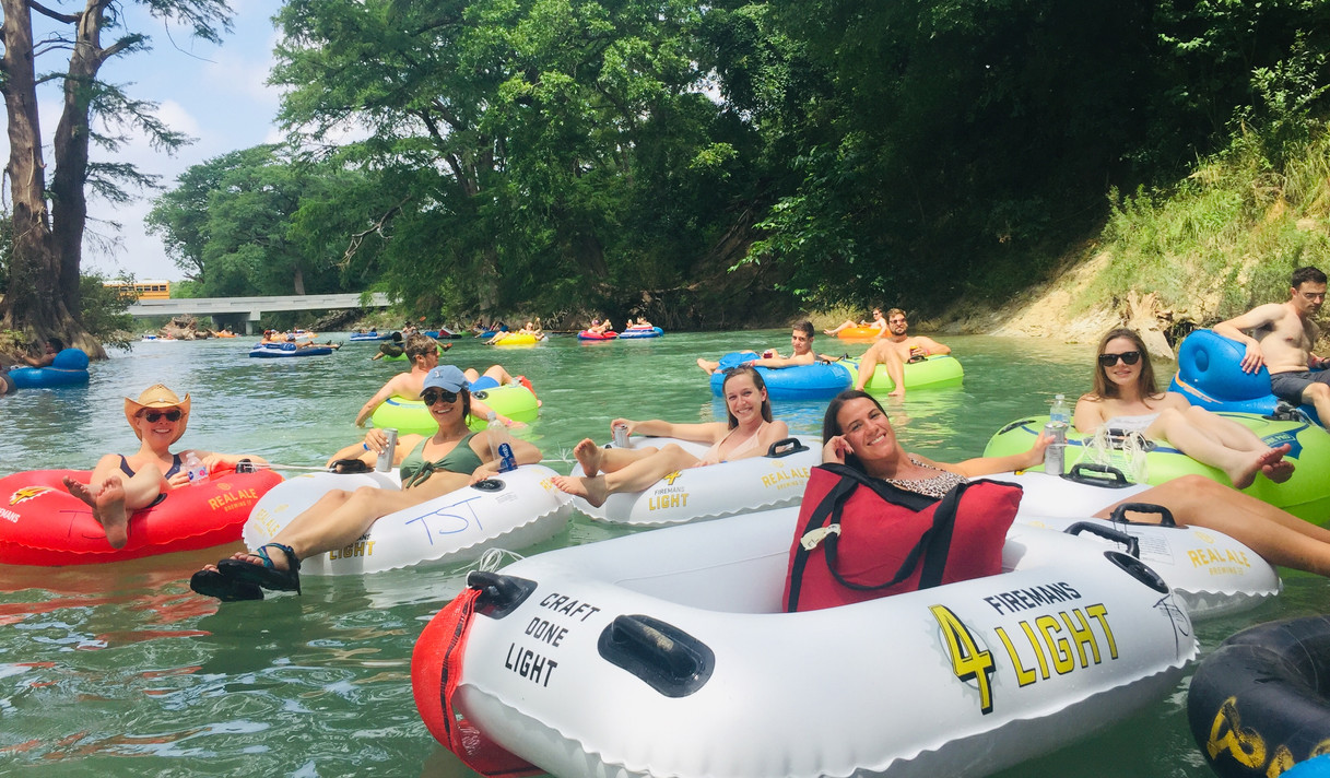 Frontera Tours Austin Texas River Tuing Float