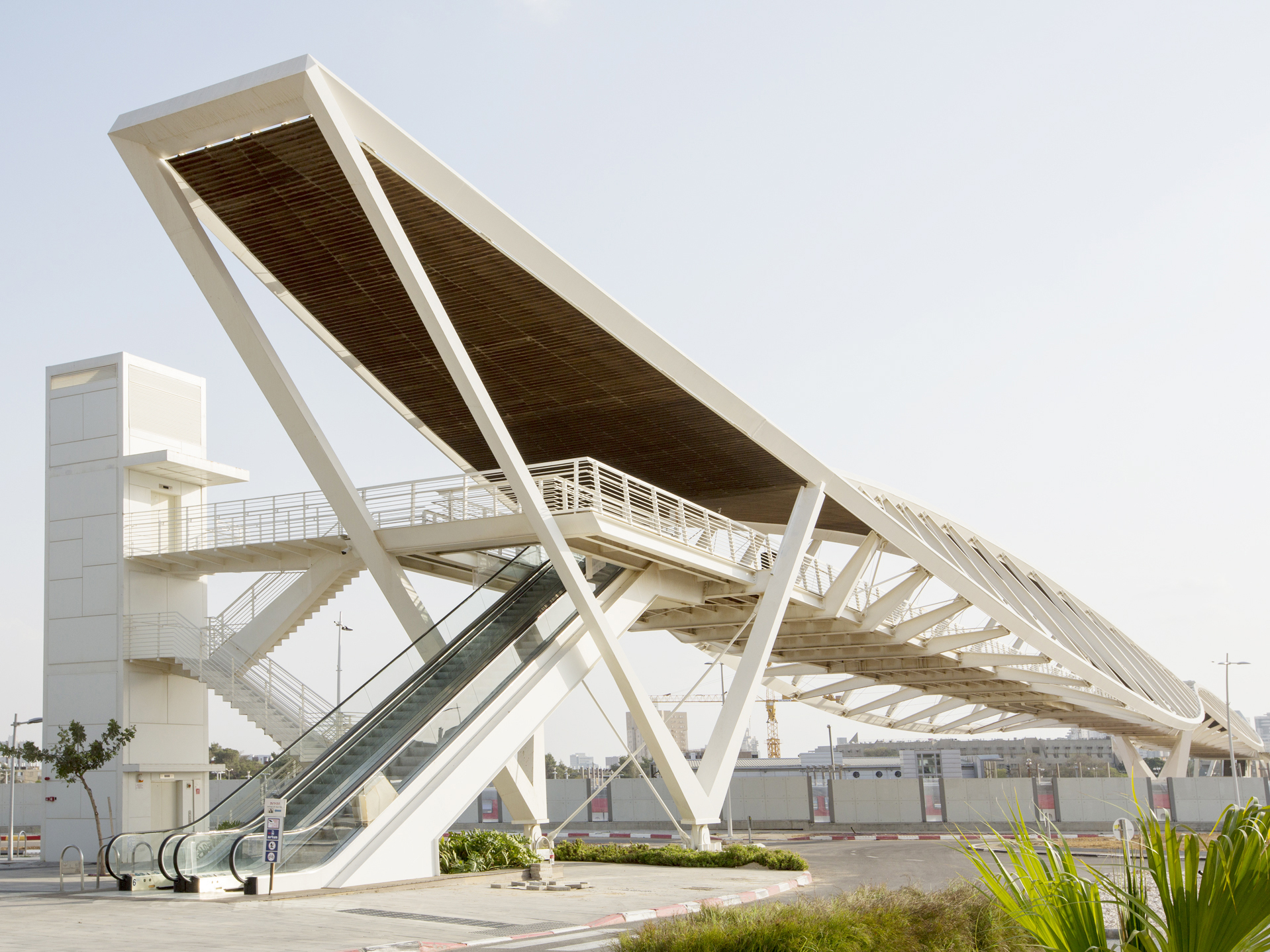 Be'er Sheva's Station Bridge