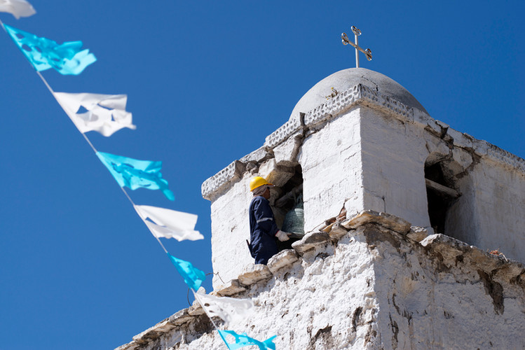 Torre Campanario Templo Santiago Apóstol