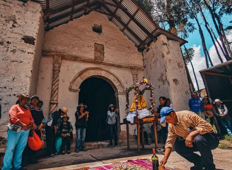 Con el traslado de Imágenes del templo partieron las obras de restauración en Ticnámar
