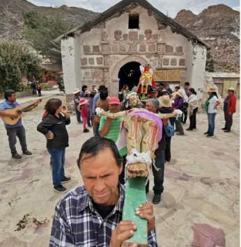 Comienza la restauración del Templo de San Santiago de Belén