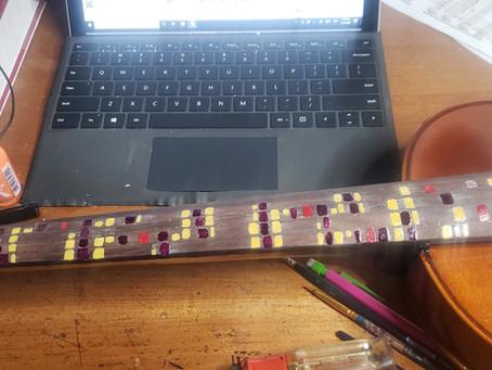 Building a Partch Adapted Viola - Part 4