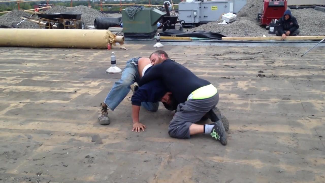 Construction Worker Atomic Wedgie!