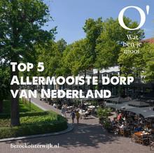 Oisterwijk is uitgeroepen tot het allermooiste dorp van Brabant.