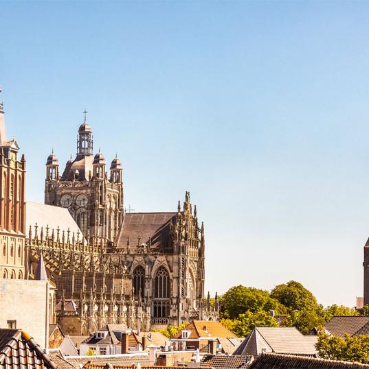 De skyline van de st. Jan in Den Bosch
