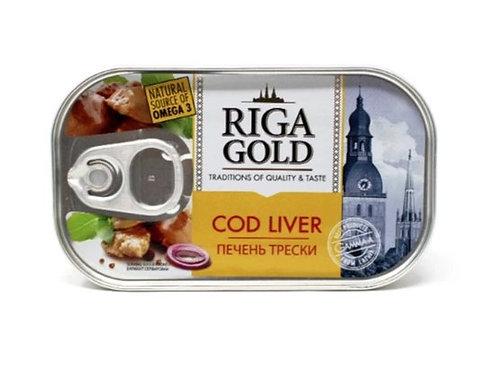 Riga Gold Cod Liver in Own Oil