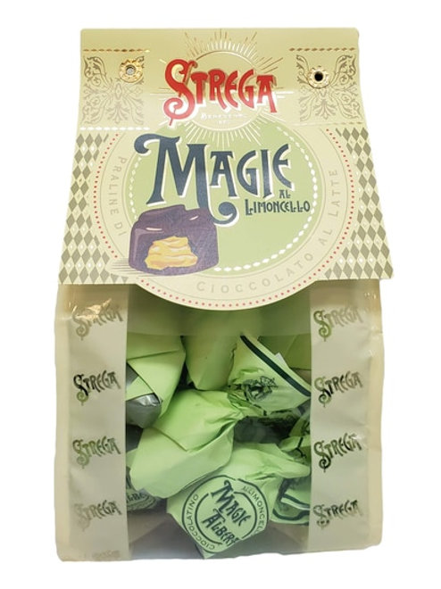 Strega Magie Milk Chocolate Truffles with Limoncello Liqueur Bag
