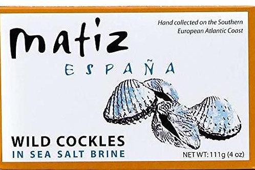 Matiz Berberechos Wild Cockles in Sea Salt Brine
