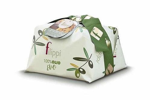 Filippi 100% Extra Virgin Olive Oil Panettone