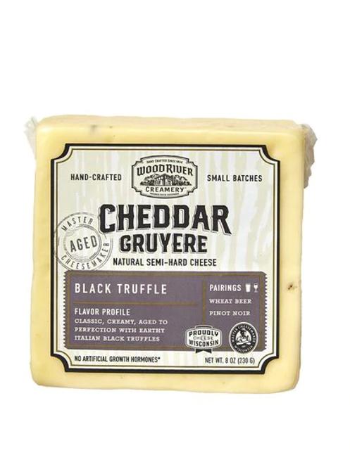 Wood River Cheddar Gruyere with Black Truffle