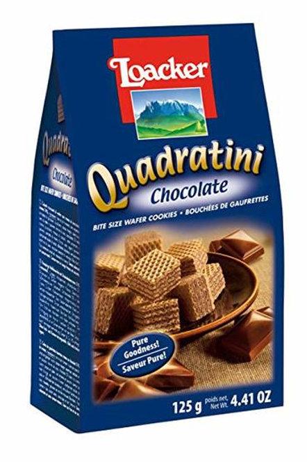 Loacker Quadratini Chocolate Cube Wafers