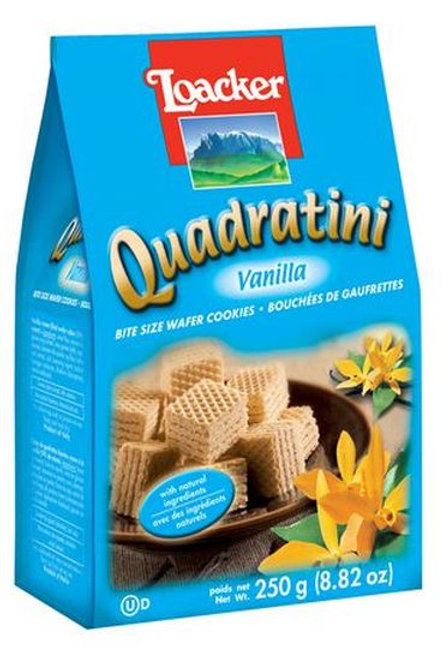 Loacker Quadratini Vanilla Cube Wafers