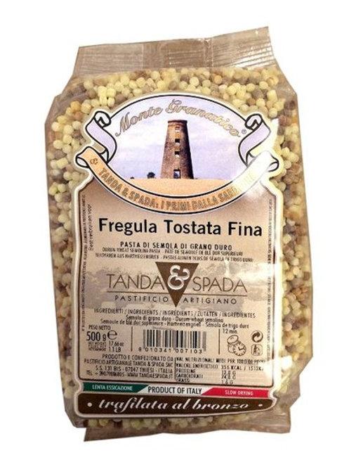 Fregula Tostata Fina (Toasted Fregola)