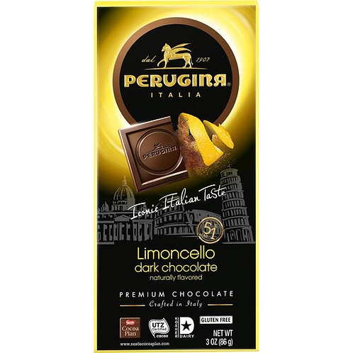 Perugina Dark Chocolate Limoncello Bar
