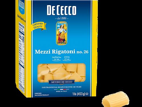 De Cecco Mezzi Rigatoni