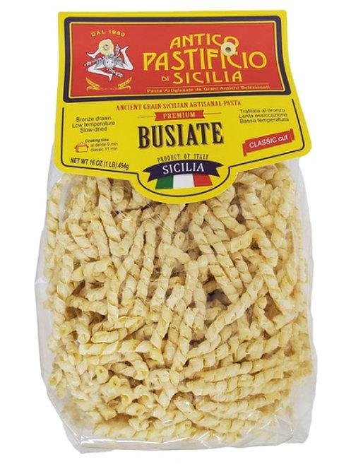 Antico Pastificio di Sicilia Premium Busiate Ancient Grain Sicilian Pasta