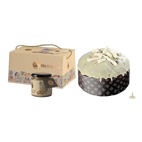 Fiasconaro Oro di Manna Panettone with Manna Cream