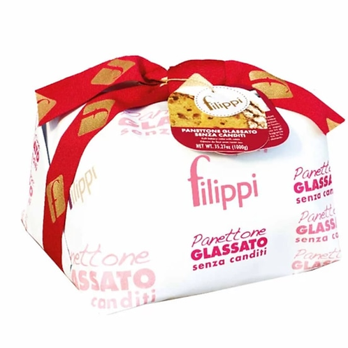 Filippi Italian Panettone Without Candied Fruit