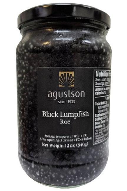 Agustson Black Lumpfish Caviar