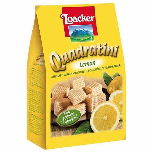 Loacker Quadratini Lemon Cube Wafers