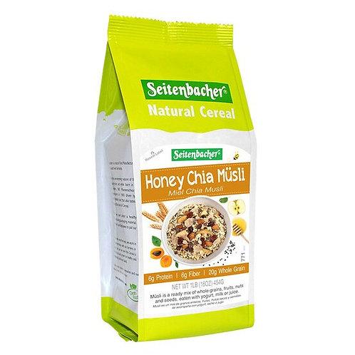 Seitenbacher Muesli #8 High Fiber Breakfast Honey Chia