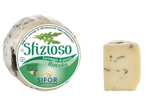 Sfizioso Primo Sale Sicilian Pecorino with Rucola