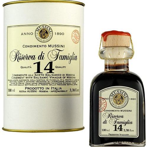 Mussini 14 Year Balsamic Vinegar Riserva di Famiglia