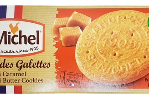 St Michel Galettes Caramel Butter Cookies