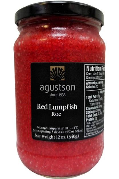 Agustson Red Lumpfish Caviar