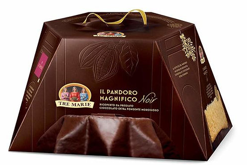 Tre Marie Pandoro Covered with Fine Extra Dark Chocolate