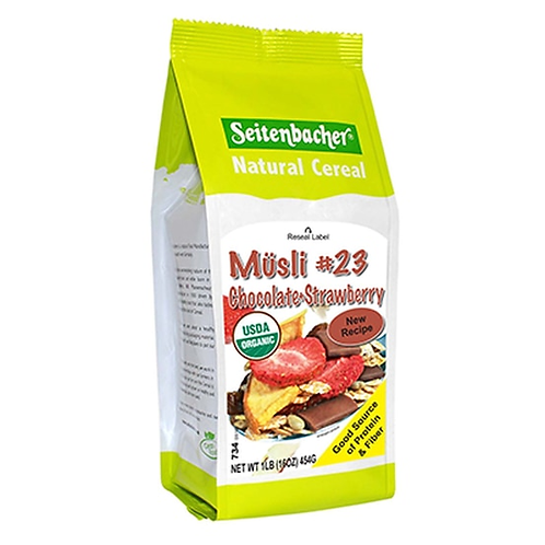 Seitenbacher Musli #23 Organic Chocolate & Strawberry