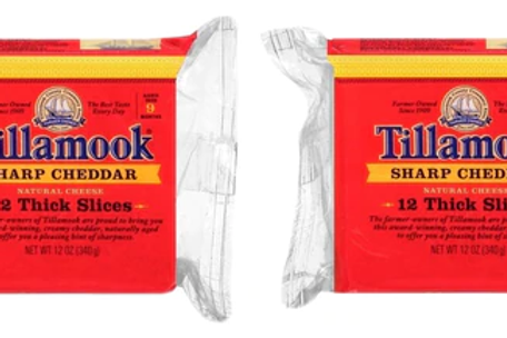 Tillamook Sliced Sharp Cheddar Cheese