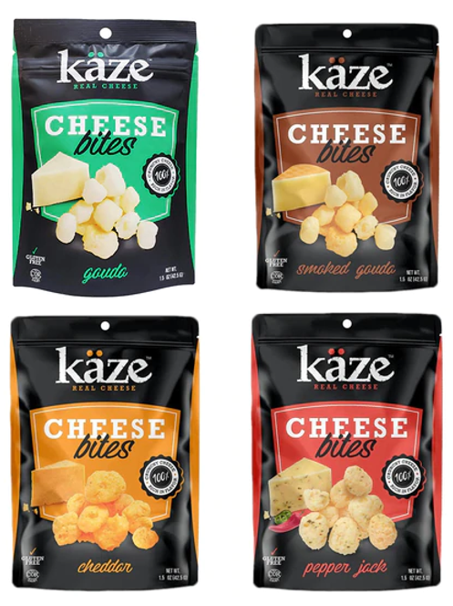 Kaze Cheese Bites Variety 4 Pack