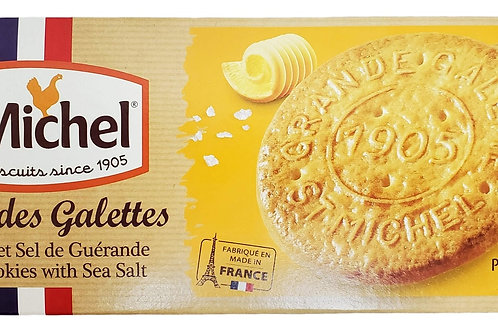St Michel Galettes Butter Cookies with Sea Salt