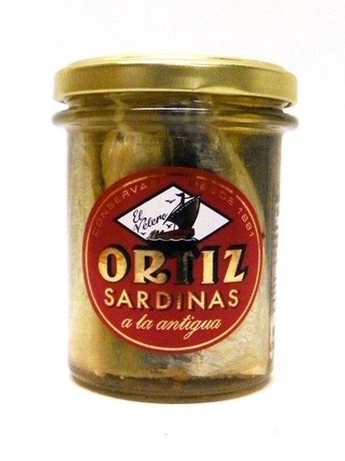 Ortiz Sardines Old Style in Olive Oil