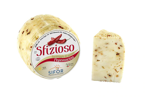 Sfizioso Primo Sale Sicilian Pecorino with Red Pepper