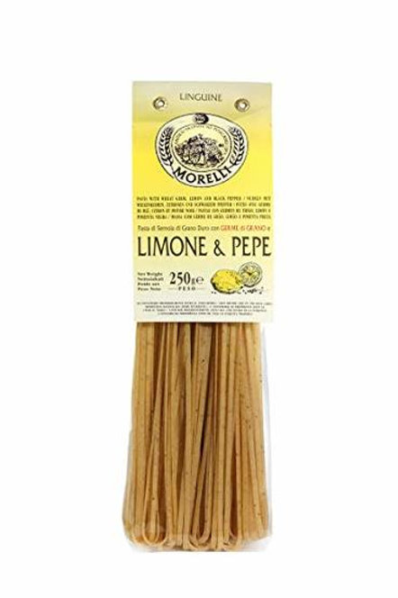 Morelli Linguine with Lemon and Black Pepper