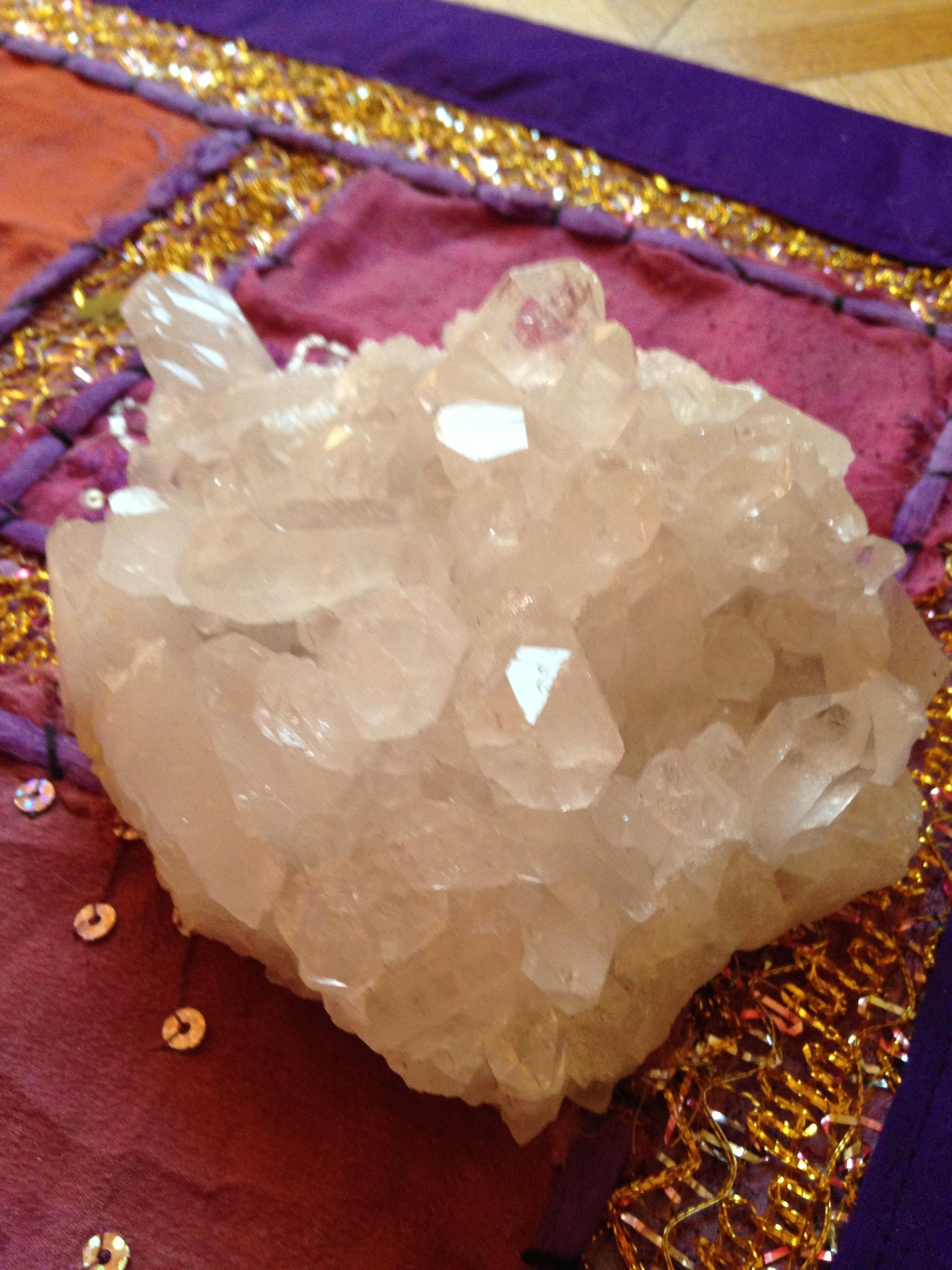 Cristal de roche brut 600 gr