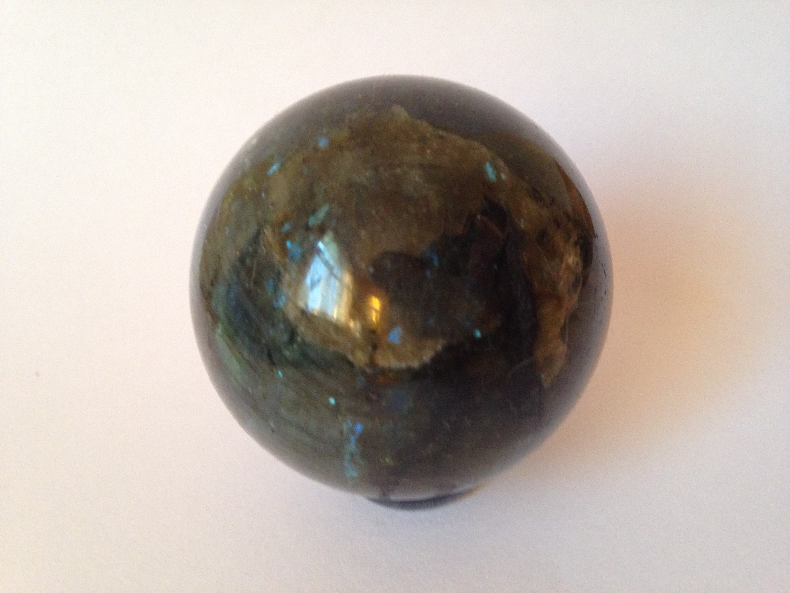 Sphère Labradorite 210 gr