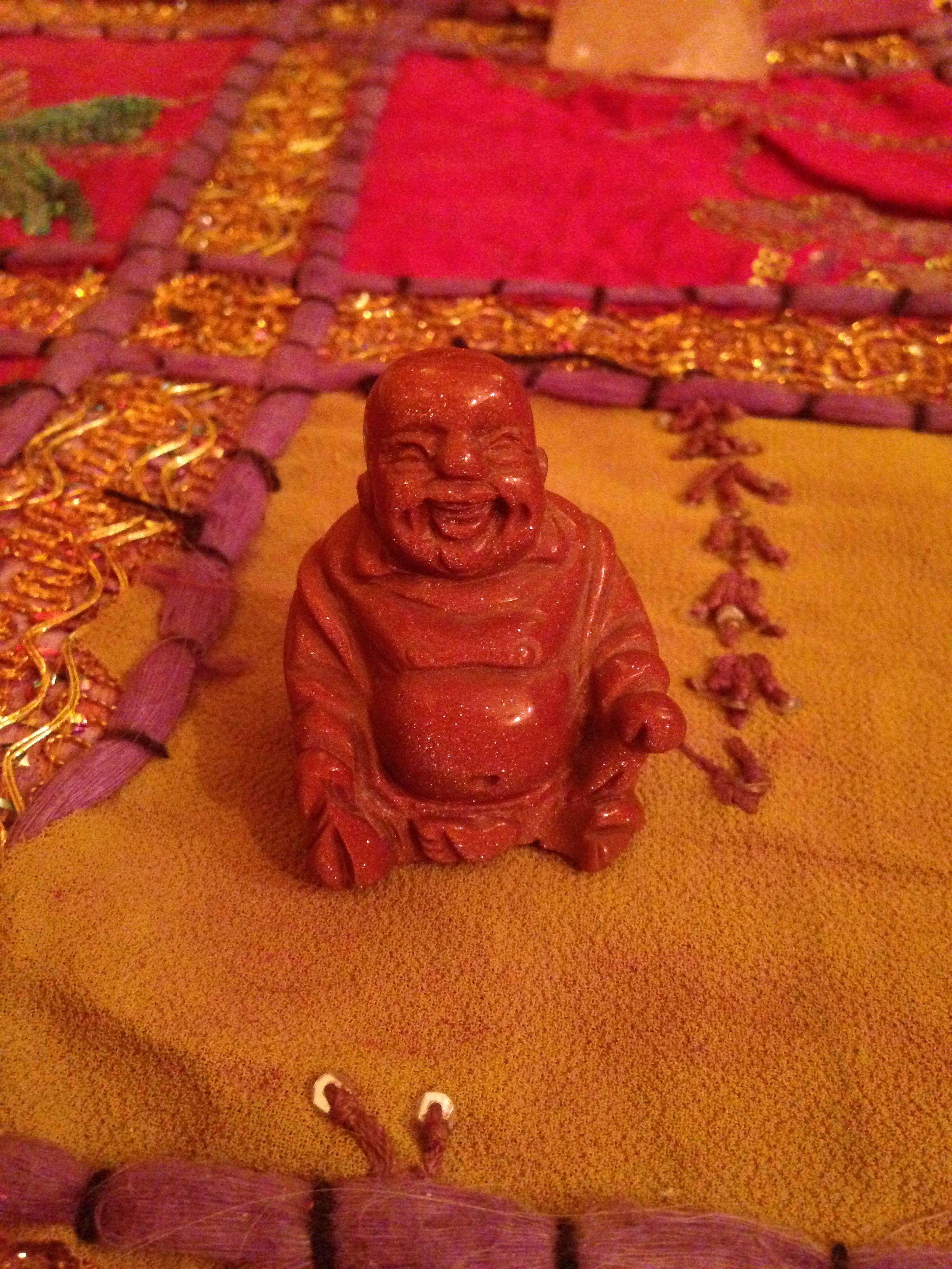 Bouddha en oiel de tigre