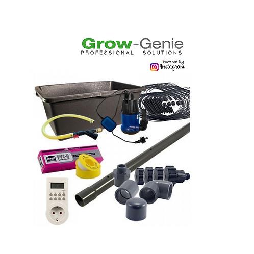 Grow-Genie´s Bewässerungsset (PVC) für 8 - 40 Pflanzen für 1 m²