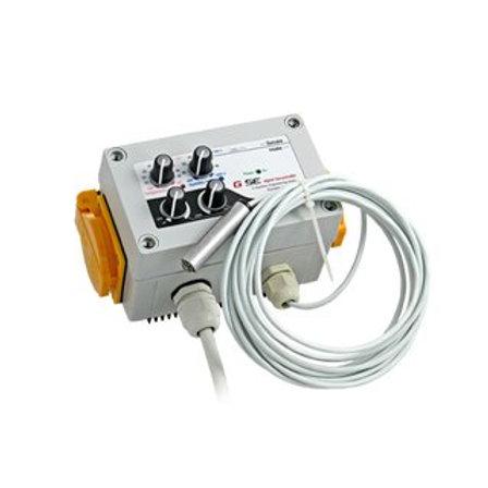 GSE digitaler Klimacontroller für Temp. u. Luftfeuchte Zu-, Abluft (2LHY)