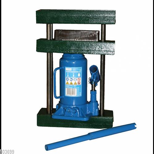 10-Tonnen-Presse, mit Rahmen, Pressform und 10-Tonnen-Hydraulikheber
