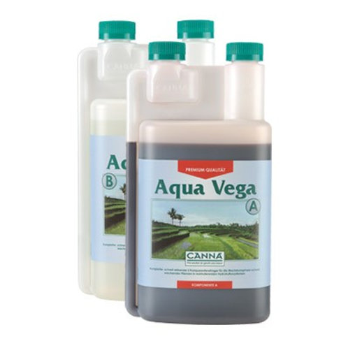 Canna Aqua Vega A+B 1L Wachstumsdünger