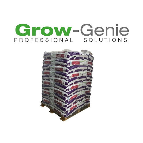 1 x Große Palette mit 55 Sack Plagron Grow Mix Erde 50L mit Perlite