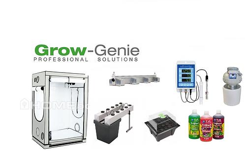 "Grow Genie`s ""NFT AeroFlo 10 + SANlight Q4WL Super G-Machine"""