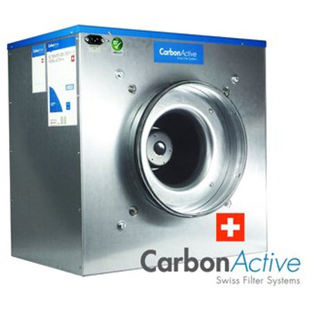 CarbonActive EC Silent Box 750m³/h 200mm mit GrowBase EC PRO