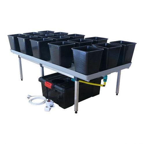 Ebbe und Flut Bewässerungssystem Bonanza 1m²