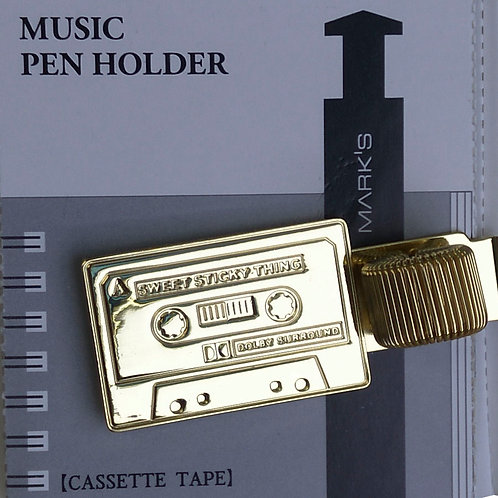 90260000078 Pen holder - Cassette tape